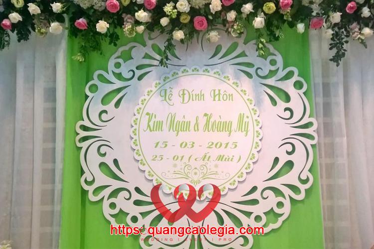 bảng tên cô dâu đẹp giá rẻ